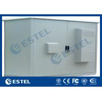 Buy cheap Two Compartment Cooler Outdoor Communication Cabinets Assembled Structure IP55 from wholesalers