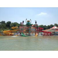 Aqua Park Giant Water Playground Equipment With Water House / Water Slide