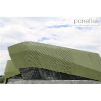Buy cheap Special Form Glazed Terracotta Facade Panels With Special Design And Special Shape from wholesalers