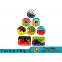 Buy cheap Security Promotional Casino Poker Chips With Smooth And Delicate Texture product