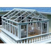 Buy cheap Safety Glass Villa Aluminium Frame Greenhouse Sunroom For Leisure Life product