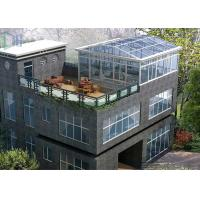 Buy cheap Eco Environmental Aluminium Frame Greenhouse Sunroom For High Level Villa product