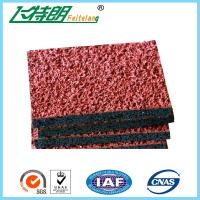 Athletic Synthetic Rubber Flooring Running Track Field Permeable 1.56 Tensile Strength