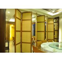 Demountable Partition Folding Internal Doors  Stackable Acoustic Partitions