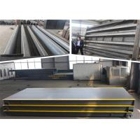 Buy cheap Digital Lorry Weighing Scales 8 Ton Rated Load U Beam Girders Structure product