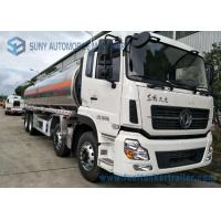 Buy cheap Dongfeng 8*4  27.5cbm Fuel Tank Trailer 340HP  Aluminium Alloy For Transporting Oil from wholesalers
