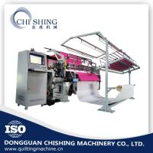Three Needle Bar Automatic Quilting Machine , Hi Speed Lockstitch Sewing Machine