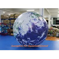 Buy cheap 2m Diameter Oxford/ PVC Material Giant Inflatable Earth Globe from wholesalers