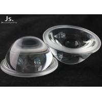 High Bay / Low Bay LED Glass Lens , 60deg LED Optics Lenses Reduce Glitz Design