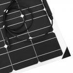 Buy cheap ETFE Surface 100 Watt Monocrystalline Solar Panel 18 Volt Cell Efficiency 19.5% product