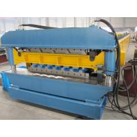 1200mm Width Metal Sheet Forming Machine With Roll Forming Device 380V
