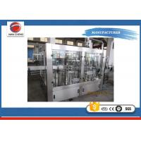 High Accuracy Carbonated Drinks Filling Machine 2000 - 3000BPH For Soda Sparkling Water