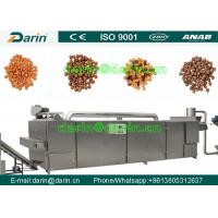 Durable dog food machinery  , fish feed extruder machine Stainless Steel