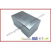Buy cheap Free sample Silver Hot Stamping promotion Gift Boxes for memorabilia product
