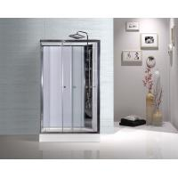 Buy cheap Model Rooms Rectangular Shower Cabins With Tempered Glass Sliding Door product