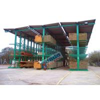 Buy cheap 4650 Kg Per Arm Cantilever Steel Storage Racks Rows With Stacker Cranes product