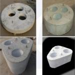 Buy cheap White Color Corundum Brick , Corundum Mullite Bricks For Kiln Inner Liner product