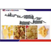 Buy cheap Crispy Pea Snack Extruder Machine , High Output Snacks Production Machines product