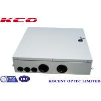 Buy cheap Indoor FTTH FTTB Fiber Optic Terminal Box 4 Cable Ports Steel Tape Material KCO from wholesalers