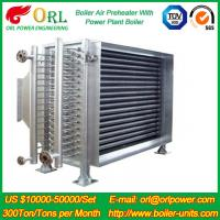 Heat Preservation CFB Boiler Natural Gas Air Preheater APH 260MW Station Preheater