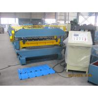 Decking and Roof  Double Layer Cold Roll Forming Machine 72mm dia shaft