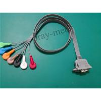 Buy cheap DMS Holter ecg patient cables and leads for DMS300-3A with 15pin from wholesalers