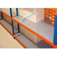Buy cheap ISO Industrial Long Span Shelving Galvanized Steel Rack Low Consumption product
