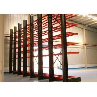 Buy cheap Single Sided Cantilever Storage Racks 1500MM Max. Arm Length For Irregular / Longer Products product