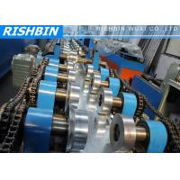 20 KW C Z Channel Purlin Roll Forming Line with 12 - 14 m / min Carbon Steel