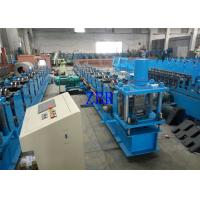 2 Units Servo Motor Interchangeable Roll Forming Machine For Purlin C / Z 100-300 MM