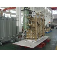 Three Phase Distribution Transformer 10kV - 35kV Compact Structure For Power Plants