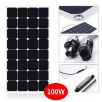 Buy cheap SunPower Flexible 100 Watt Solar Panel Kit For RV With CE ROHS Certificated product