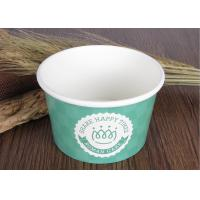 Buy cheap Single Wall Branded Ice Cream Cups Disposable With Eco Freindly Materials product