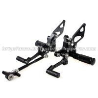 Buy cheap Custom Motorcycle Rear Sets / Aluminum Alloy Motorcycle Foot Pegs from wholesalers