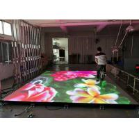 Buy cheap Interactive Eye - Catching Stage LED Display With Flexible , Flat And Sturdy Surface product