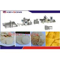 Buy cheap Stainless Steel Tortilla Chips Making Machine , Fried Tortilla Chips Production Line Machine product