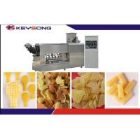 Buy cheap 2D 3D Food Fryums Snack Pellet Production Line Extruder Machine Steady Performance product