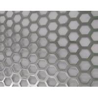 Buy cheap Hexagonal Hole Perforated Metal Perforated Aluminum Sheet 2mm thick 3003 5005 5052 6061 3004 from wholesalers
