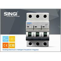SINGI 65A 3VTB 3P 400V  CE certificate slippery container holder mini circuit breaker(MCB) manufacturer