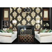 Buy cheap Lightweight Peelable PVC Vinyl Wallpaper Flower Pattern With 10m Length product