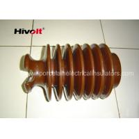 Buy cheap Brown Color Post Type Insulator , Pin Post Insulator OEM Available product