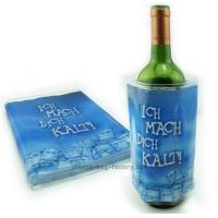 Buy cheap Convenient Packaging Wine Cooler Bag 34.5x18.5cm With Full Color Printing product