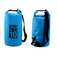 Outdoor Activities 10l Dry Storage Bags Watertight With Shoulder Strap
