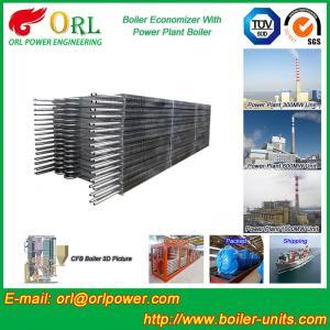 Power Station Boiler Stack Economizer / Steam Boiler Economizer Tubes