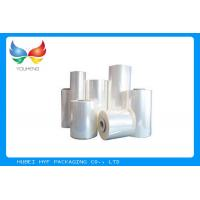 Buy cheap Food Grade Blow Soft PVC Shrink Film , Plastic Heat Shrink Wrap For Bottles product