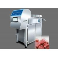 380V 50Hz Frozen Meat Cutting Machine , Stainless Steel Frozen Meat Cutter