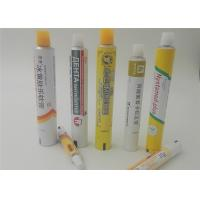 Buy cheap Empty Aluminum Soft Cream Tubes For Betonate Gel , With GMP Workshop product
