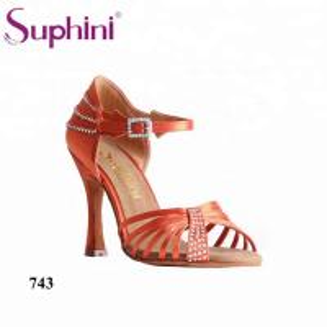 1e14d925d Buy cheap Suphini Purple satin rhinestones high heel rumba chacha dance  shoes from wholesalers