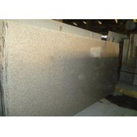 Yellow 100% Natural Granite Tiles For Kitchen Countertop Available Custom