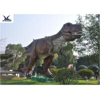 Buy cheap Attractive Dinosaur Lawn Statue For Jurassic Park , Decorative Animal Garden Ornaments  product